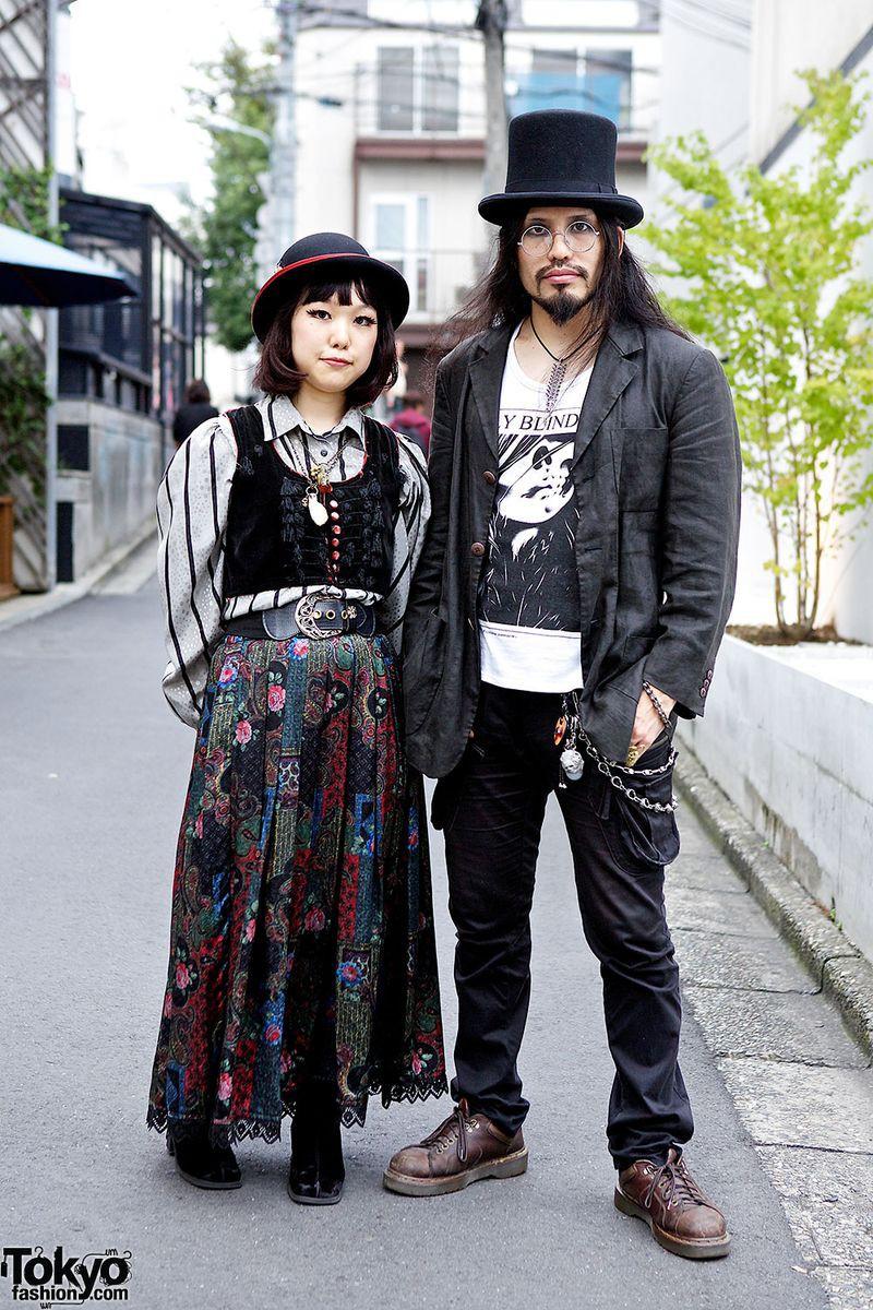 Японская мода, суровая и беспощадная мода, молодежь, стиль, япония