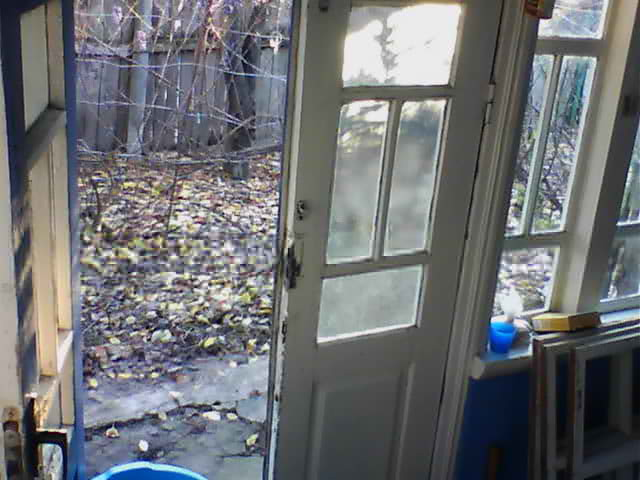 Камера на веранде, для контроля доступа в дом. Дневной режим видеонаблюдения деревня, технологии