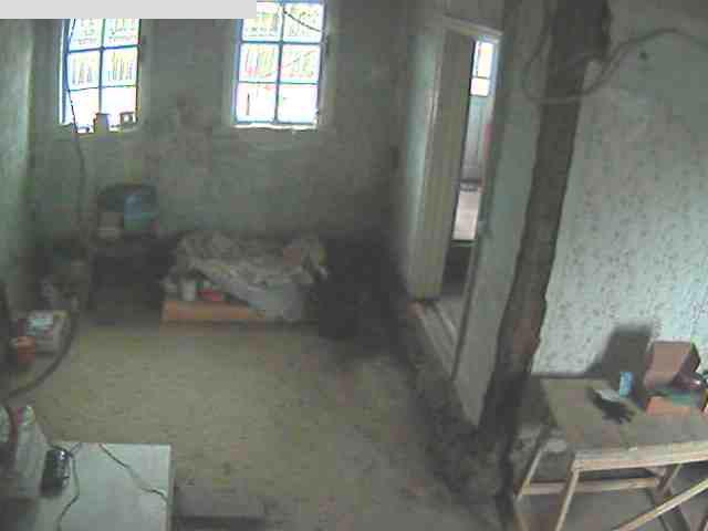 Видеокамера в гостиной, осень 2013 деревня, технологии