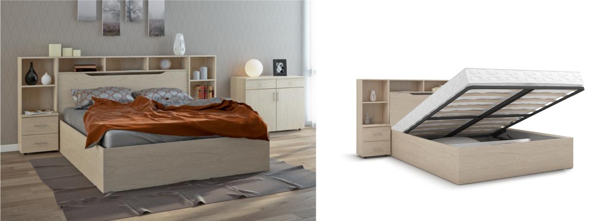 Кровать с потайной нишей