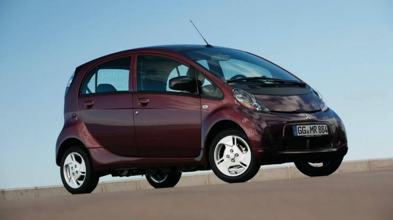 4. Mitsubishi i-MiEV — от 999 000 рублей. авто, электроавтомобили