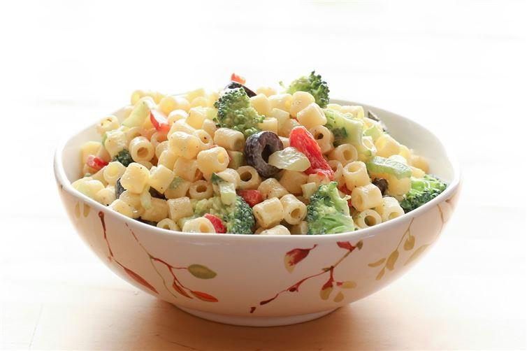2. Паста с овощами и легким соусом паста, рецепт