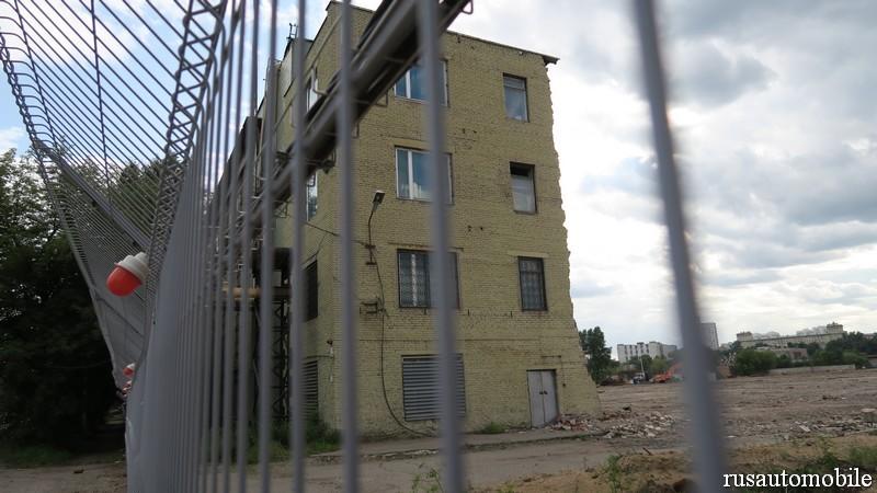 Заброшенный завод имени Лихачева завод, зил