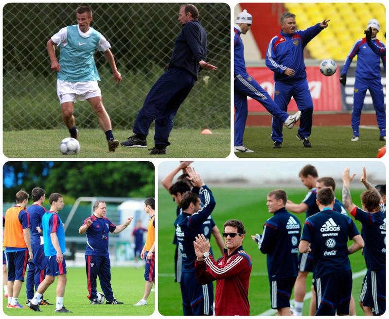 Тренеры сборной России, их достижения и гонорары сборная россии, тренеры, факты, футбол