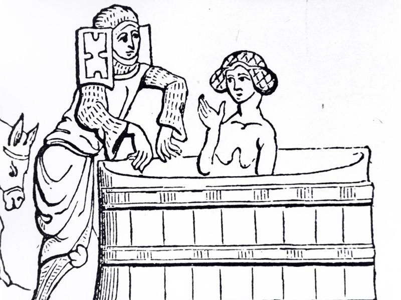 Использование воды на несколько раз гигиена, история, средневековье