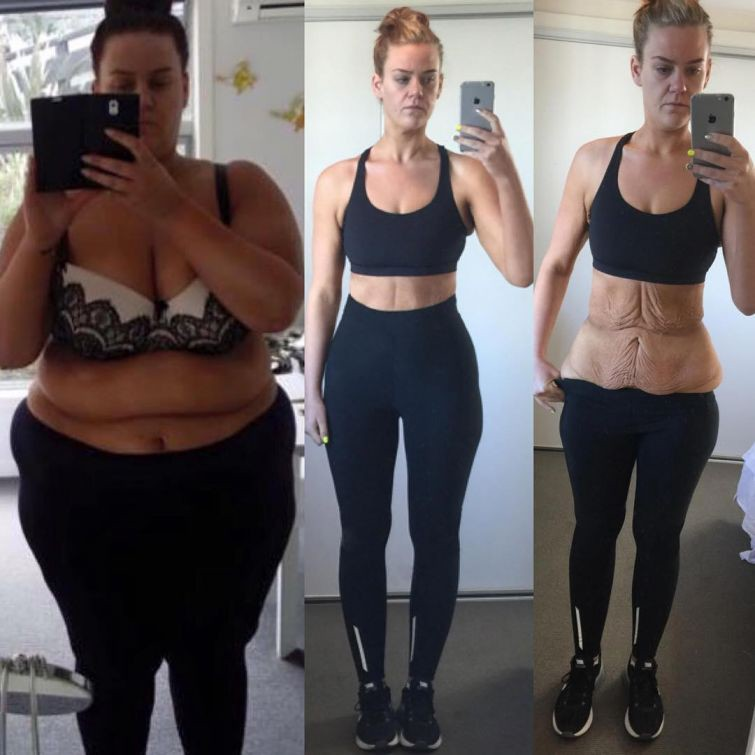 фото до тренировок и после девушки