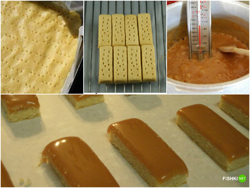 Пока печенье остывает, приготовим карамель импортные сладости своими руками, рецепты