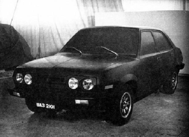 14. ВАЗ 2101-80, 1975 год. авто, история, концепты, ссср
