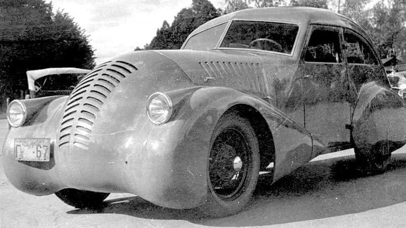 2. ГАЗ-А-Аэро, конструктор Алексей Никитин, 1934. авто, история, концепты, ссср