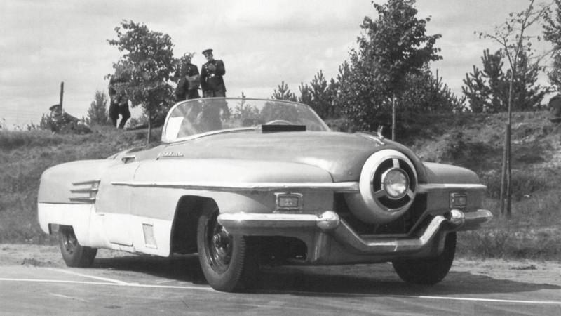 9. ЗИС-112 с шестилитровым двигателем, 1951 год. авто, история, концепты, ссср