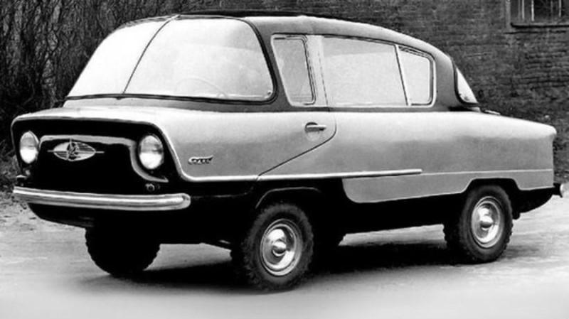 8. ИМЗ-НАМИ А50 «Белка», 1955 год. авто, история, концепты, ссср